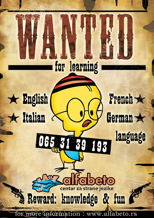Kalimero Alfabeto Wanted for learning